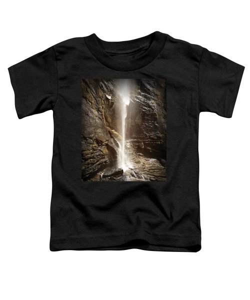 Rainbow Falls Of Jones Gap Toddler T-Shirt
