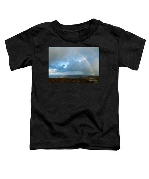 Rainbow Over Porlock Hill Toddler T-Shirt