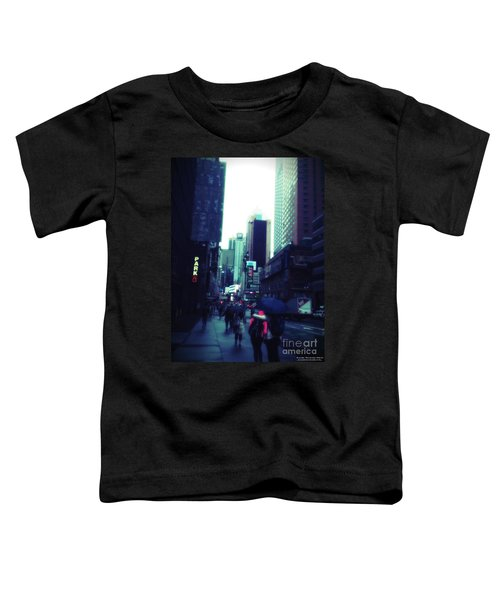 Rainy Day New York City Toddler T-Shirt