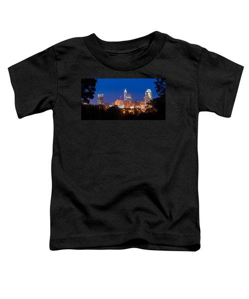 Raleigh Skyline Toddler T-Shirt