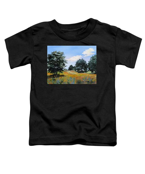 Ranch Road Near Bandera Texas Toddler T-Shirt