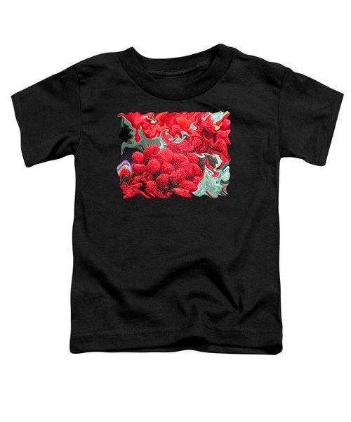 Raspberries Toddler T-Shirt by Kathy Moll