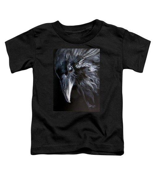 Raven Attentive Toddler T-Shirt