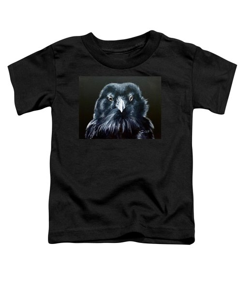 Raven Fluff Toddler T-Shirt