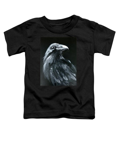 Raven Looking Right Toddler T-Shirt