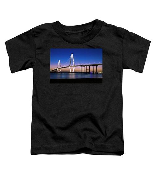 Ravenel Bridge 2 Toddler T-Shirt by Bill Barber