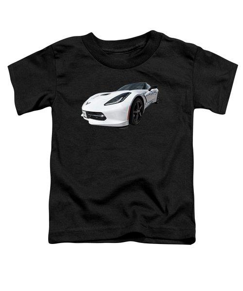 Ray Of Light - Corvette Stingray Toddler T-Shirt