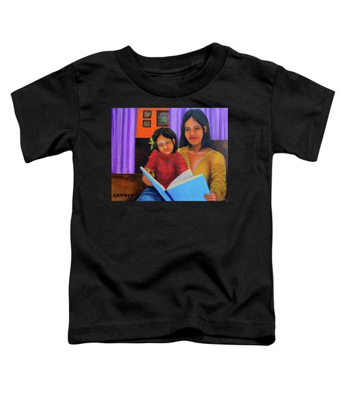 Reading With Mom Toddler T-Shirt