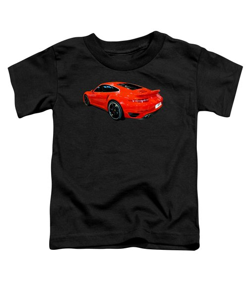 Red 911 Toddler T-Shirt