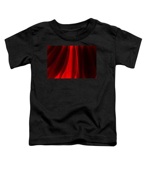 Red Abstract Of Chrysanthemum Wildflower Toddler T-Shirt