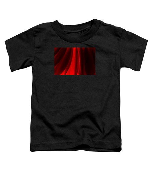 Red Abstract Of Chrysanthemum Wildflower Toddler T-Shirt
