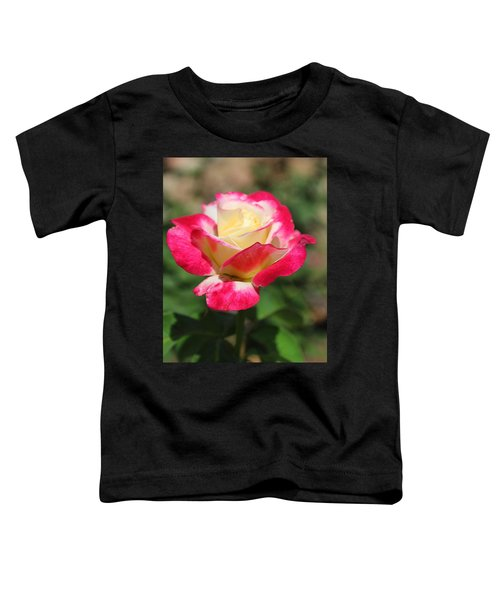 Red And Yellow Rose Toddler T-Shirt