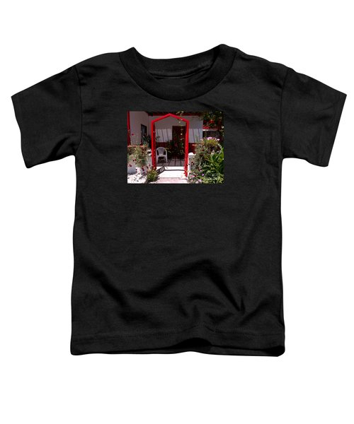 Red Arch On Lesvos Toddler T-Shirt