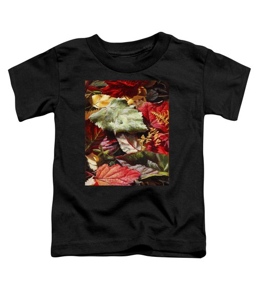 Red Autumn - Wasilla Leaves Toddler T-Shirt