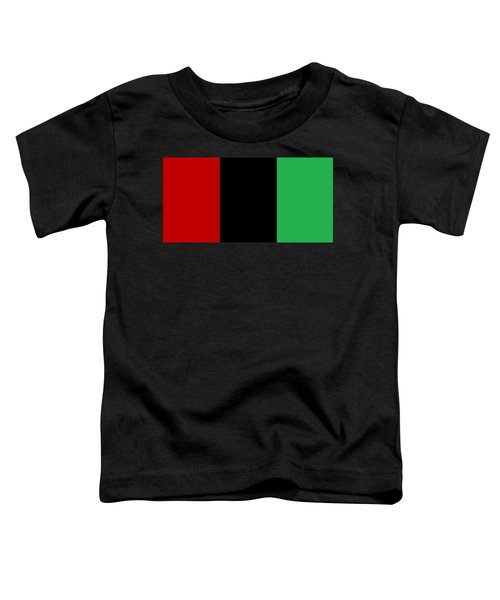 Red Black And Green Toddler T-Shirt