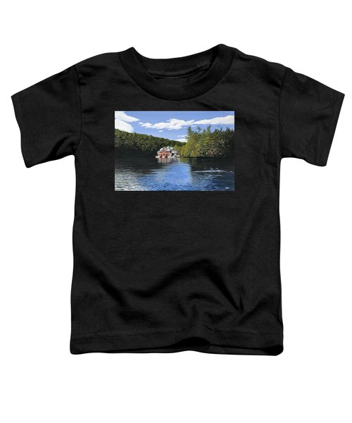 Red Boathouse Toddler T-Shirt