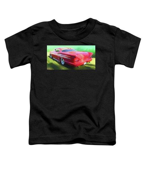 Red Custom Toddler T-Shirt