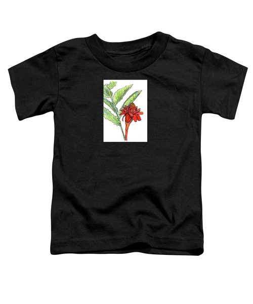 Red Torch Ginger Toddler T-Shirt