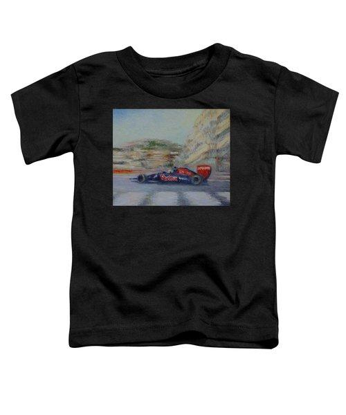 Redbull Racing Car Monaco  Toddler T-Shirt