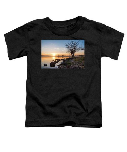 Reservoir Sunset Toddler T-Shirt