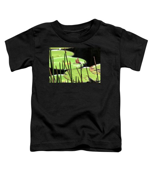 Resting Dragonfly Toddler T-Shirt