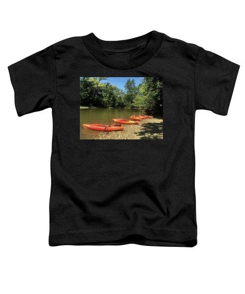 Resting Kayaks Toddler T-Shirt
