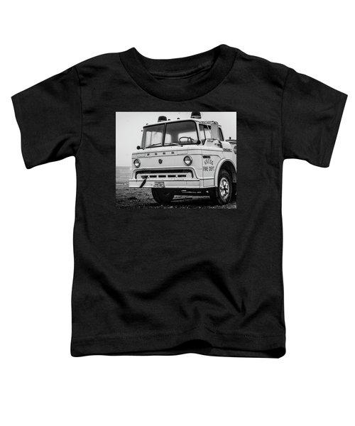 Retired Fire Truck Toddler T-Shirt