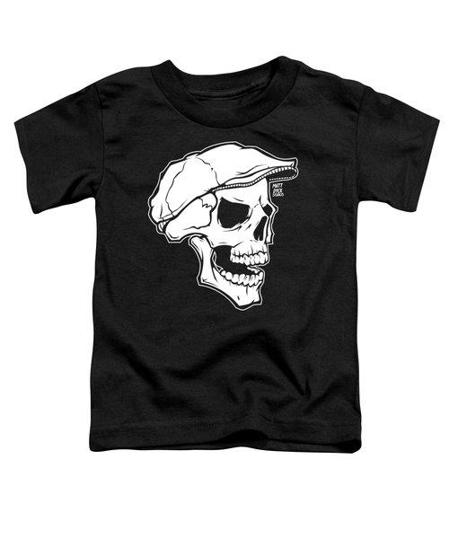 Retro Skull Toddler T-Shirt