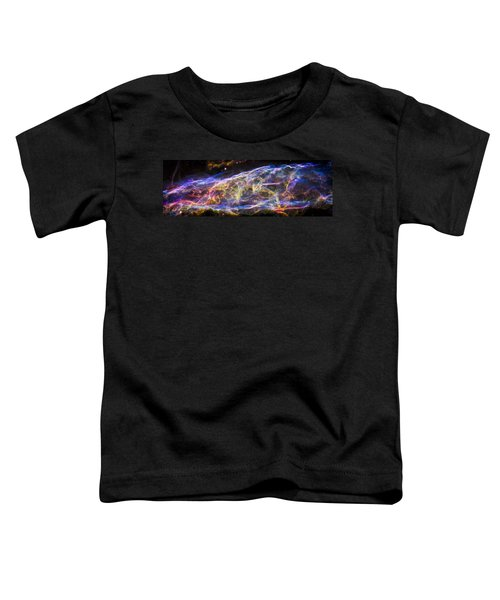 Toddler T-Shirt featuring the photograph Revisiting The Veil Nebula by Adam Romanowicz