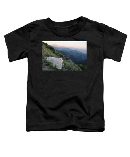 Rim O' The World National Scenic Byway Toddler T-Shirt