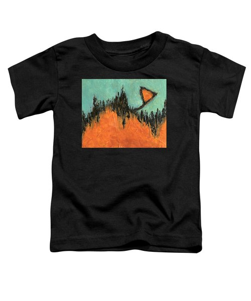 Rising Hope Abstract Art Toddler T-Shirt
