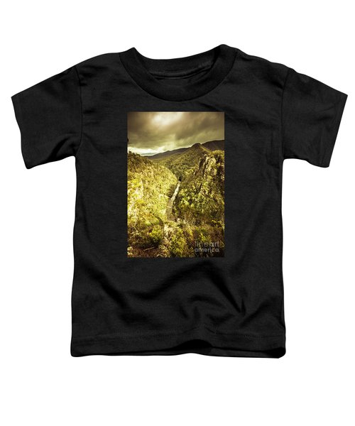 River Below Toddler T-Shirt