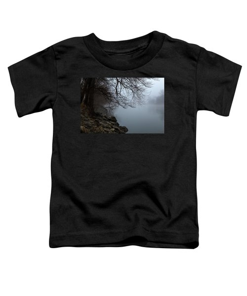 Riverbank In The Fog Toddler T-Shirt