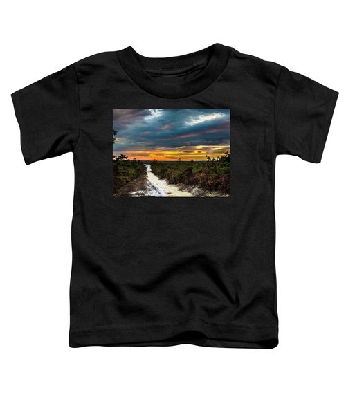 Road Into The Pinelands Toddler T-Shirt