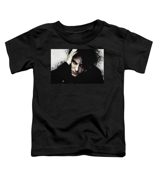 Robert Smith - The Cure  Toddler T-Shirt