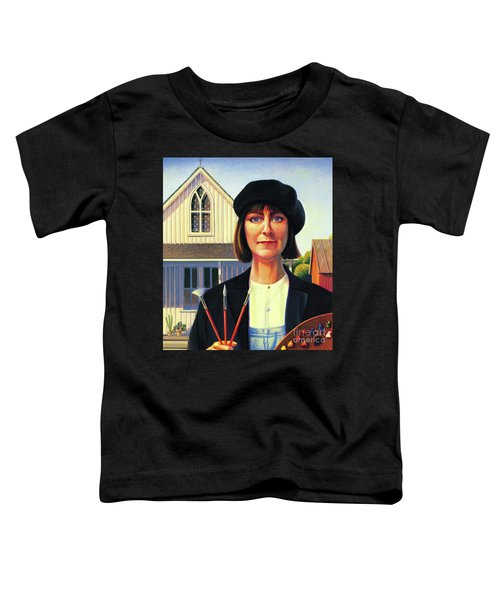 Robin Wood Self-portrait Toddler T-Shirt