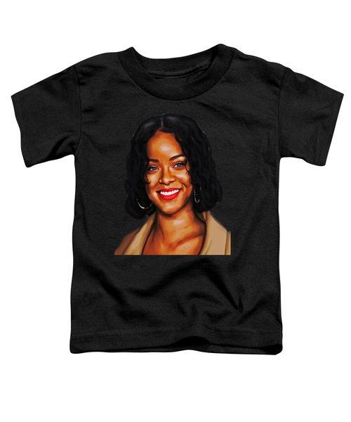 Robyn Rihanna Fenty Canvas  Toddler T-Shirt