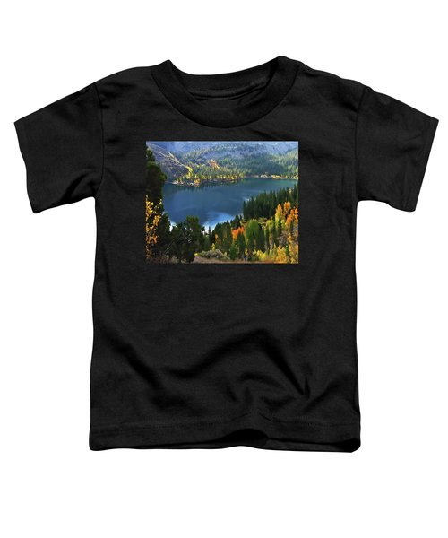 Rock Creek Lake In Fall Toddler T-Shirt