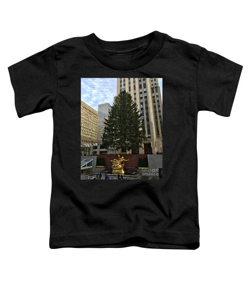 Rockefeller Center Christmas Tree Toddler T-Shirt