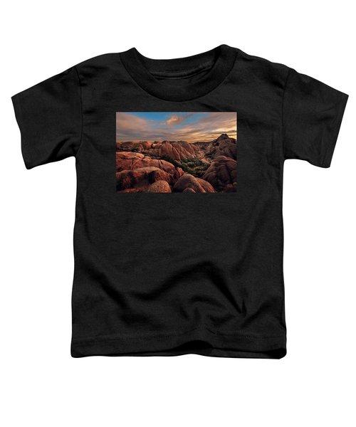 Rocks At Sunrise Toddler T-Shirt