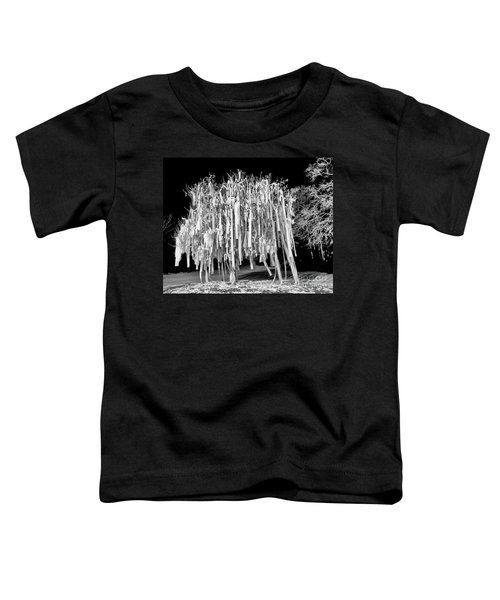 Rolled Tree Blk N White Toddler T-Shirt