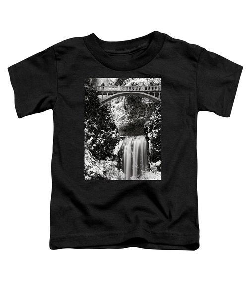 Romantic Moments At The Falls Toddler T-Shirt