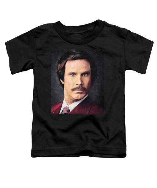 Ron Burgundy Toddler T-Shirt