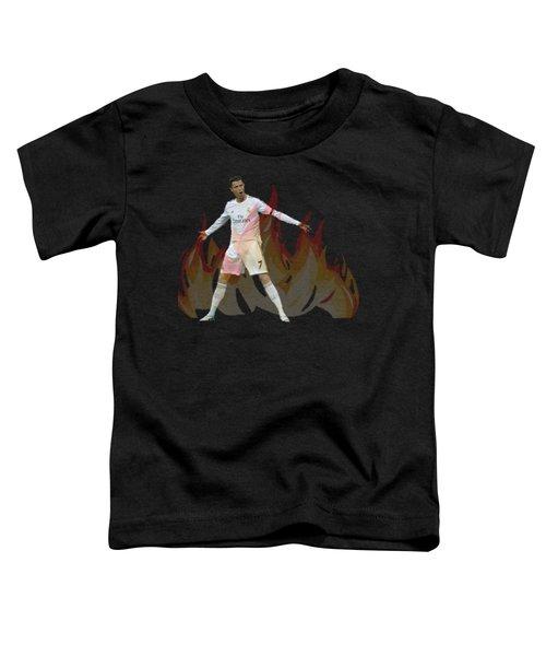 Ronaldo Toddler T-Shirt by Vincenzo Basile