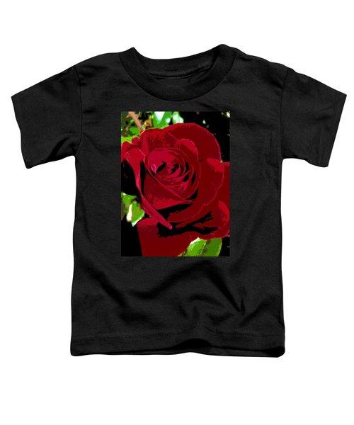 Rose Bloom Toddler T-Shirt