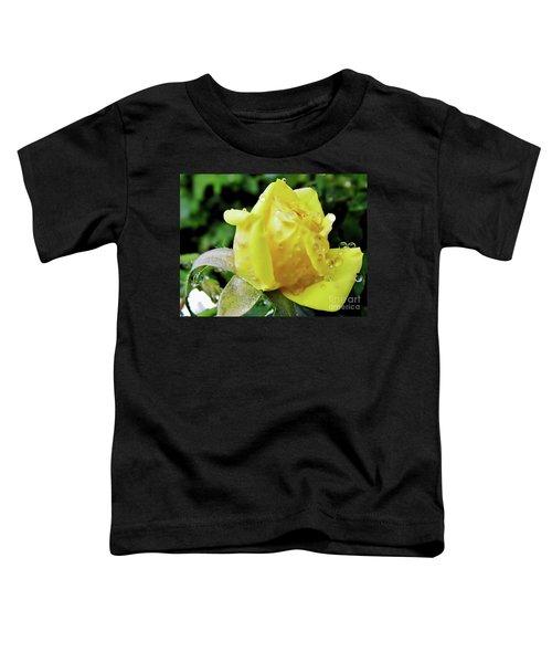 Rose Bud Dew Drops Toddler T-Shirt