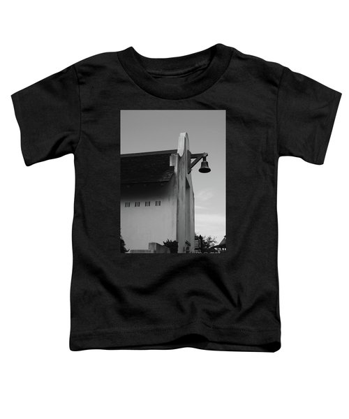 Rosemary Beach Post Office In Black And White Toddler T-Shirt