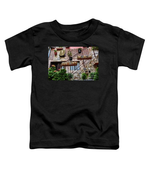 Rovinj Old Town Courtyard, Rovinj Croatia Toddler T-Shirt