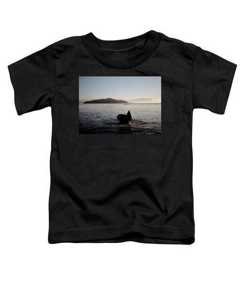Rowing Off Sausalito, Ca Toddler T-Shirt