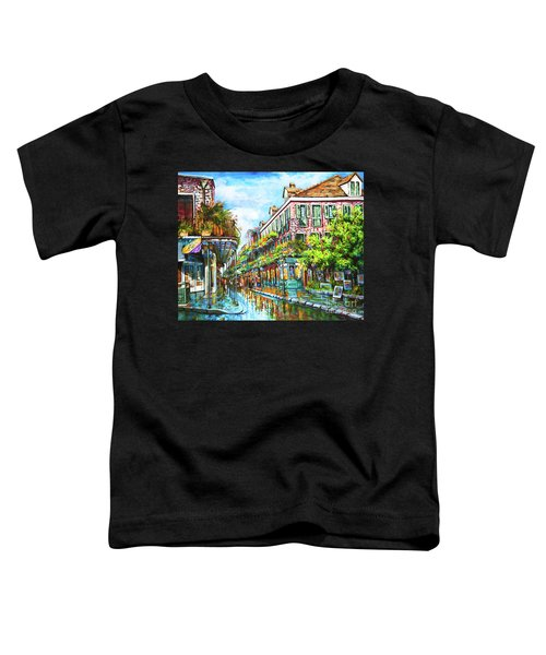 Royal At Pere Antoine Alley, New Orleans French Quarter Toddler T-Shirt